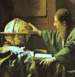 占い師、占星術師 あるいは天文学者 フェルメール画