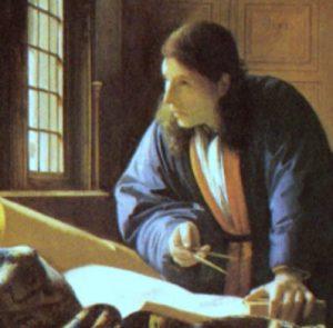 占星術師、あるいは地理学者 フェルメール画