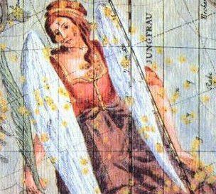 占星術で使う乙女座、スピカ