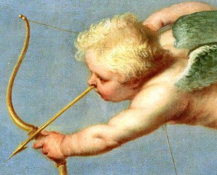 魔法を使う天使の絵