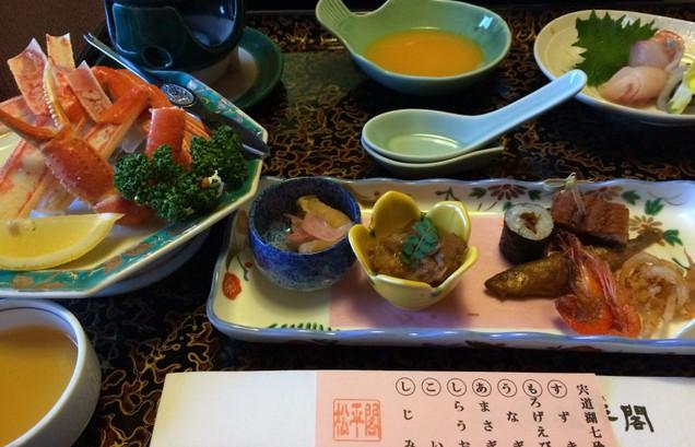 宍道湖七珍の夕食