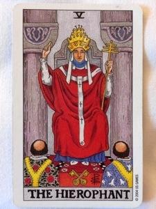 タロットカード 法皇