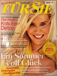 ドイツの20代向け女性誌 FUR ZIE