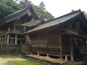 神魂神社 拝殿