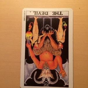 タロットカード 悪魔の逆位置