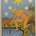 タロットカード、星の正位置