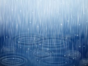 いつ雨が降るか、占いで予測する