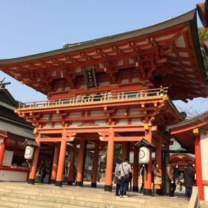 神戸市三ノ宮にある生田神社