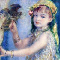 青い鳥と少女