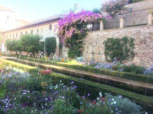 アルハンブラ宮殿の庭園