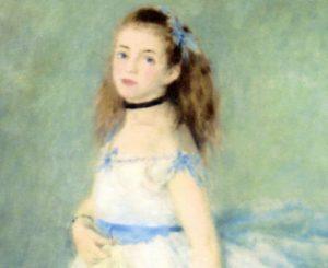 踊り子 ルノアール画