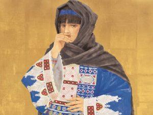 アフガンの王女 堀文子画