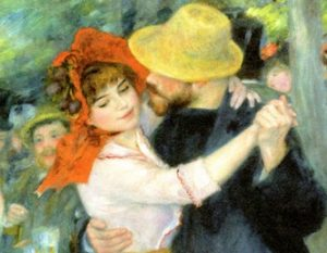 ダンスする恋人たち、プーシヴァルのダンス ルノアール画