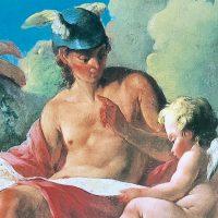 水星の守護神、ヘルメス、あるいはマーキュリー