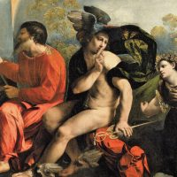 木星の神ジュピターと水星の神ヘルメス