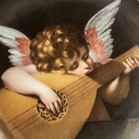 リュートを引く天使