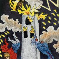 タロットカードの「塔」、あるいは突然の凶事