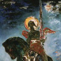 パルクと死の天使 ギュスターヴ・モロー画