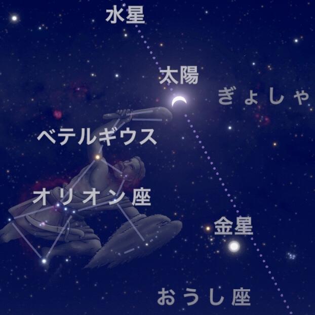 2020年6月21日 蟹座1度で新月、部分日食